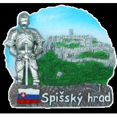 Magnetka Spišský hrad kompozitná