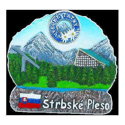 Magnetka Vysoké Tatry Štrbské Pleso kompozitná
