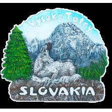 Magnetka Slovakia Vysoké Tatry kompozitná