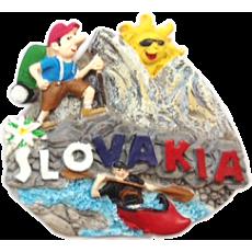 Magnetka Slovakia 02 kompozitná