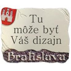 "Magnetka Bratislava erb ""vlastný dizajn"""