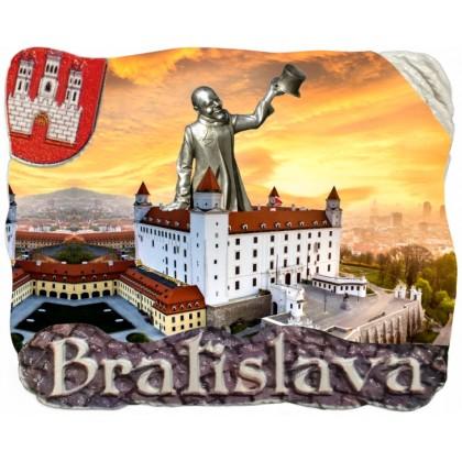 Magnetka Bratislava 05 kompozitná
