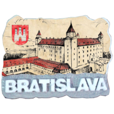Magnetka Bratislava 13 kompozitná