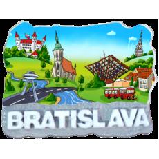 Magnetka Bratislava 16 kompozitná