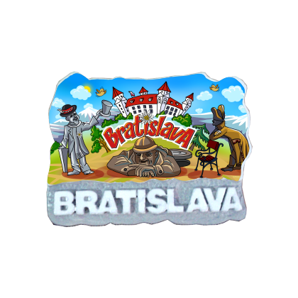 Magnetka Bratislava 17 kompozitná