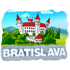 Magnetka Bratislava 18 kompozitná