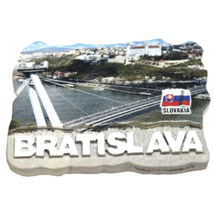 Magnetka Bratislava 04 kompozitná