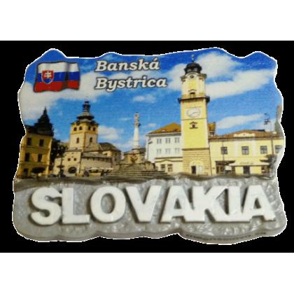 Magnetka Banská Bystrica 1 kompozitná