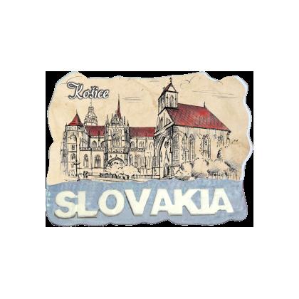 Magnetka Košice 4 kompozitná