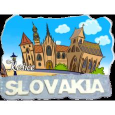 Magnetka Košice 5 kompozitná