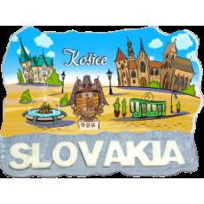 Magnetka Košice 6 kompozitná