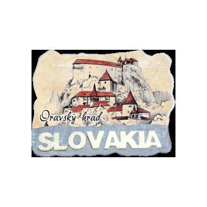 Magnetka Oravský hrad 01 kompozitná