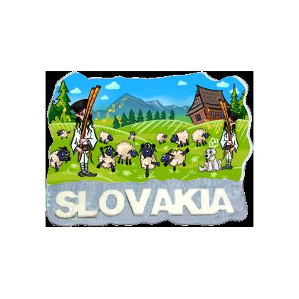 Magnetka Slovensko 3 kompozitná