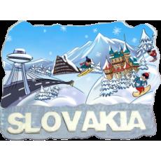 Magnetka Slovakia 4 kompozitná