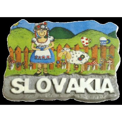 Magnetka Slovakia 2 kompozitná