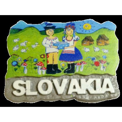 Magnetka Slovakia 1 kompozitná