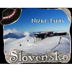 Magnetka Nízke Tatry 01 kompozitná