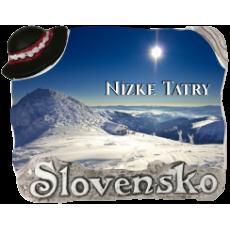 Magnetka Nízke Tatry 02 kompozitná