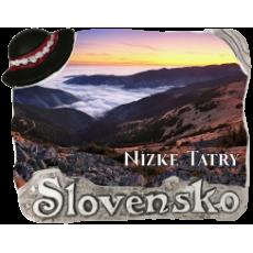 Magnetka Nízke Tatry 03 kompozitná