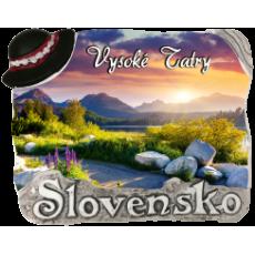 Magnetka Vysoké Tatry 01 kompozitná