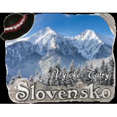 Magnetka Vysoké Tatry 02 kompozitná