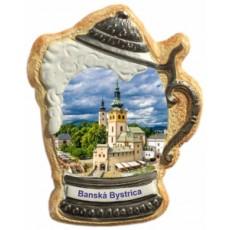 Magnetka krígeľ Banská Bystrica 02 kompozitná