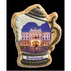 Magnetka krígeľ Bratislava 04 kompozitná