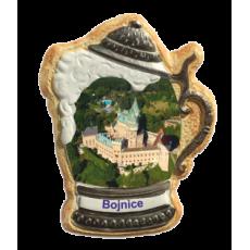 Magnetka krígeľ Bojnice 01 kompozitná
