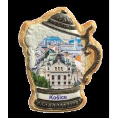 Magnetka krígeľ Košice 01 kompozitná