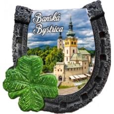 Magnetka podkova Banská Bystrica 01 kompozitná