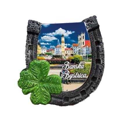 Magnetka podkova Banská Bystrica 02 kompozitná