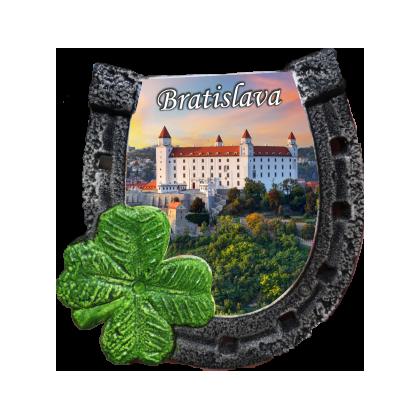 Magnetka podkova Bratislava 01 kompozitná