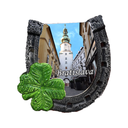 Magnetka podkova Bratislava 02 kompozitná