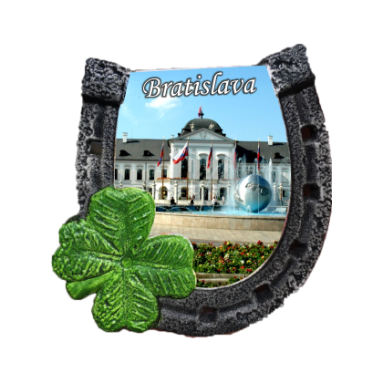 Magnetka podkova Bratislava 03 kompozitná