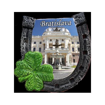 Magnetka podkova Bratislava 04 kompozitná