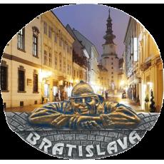 Magnetka Bratislava Michalská brána kompozitná