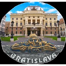 Magnetka Bratislava SND kompozitná