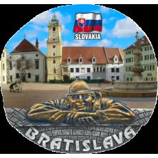 Magnetka Bratislava kompozitná