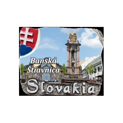 Magnetka Banská Štiavnica 01 kompozitná