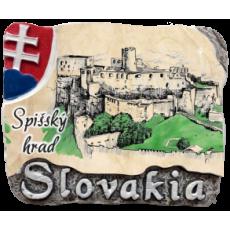 Magnetka Spišský hrad 01 kompozitná