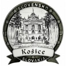 Magnetka Košice 02 Dekokov strieborná