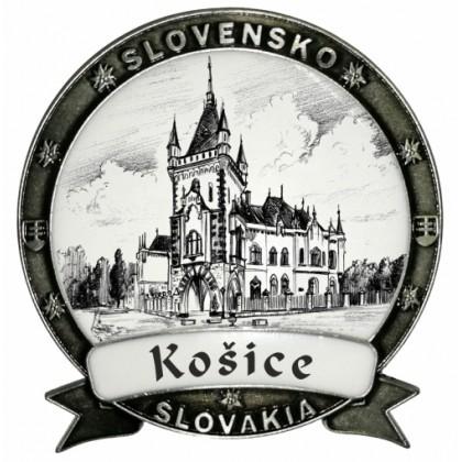 Magnetka Košice 03 Dekokov strieborná