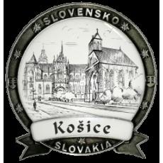 Magnetka Košice 01 Dekokov strieborná