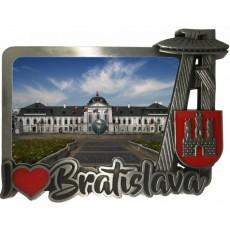 Magnetka kovová Bratislava 03 dofarbovaná