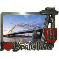 Magnetka kovová Bratislava 07 dofarbovaná