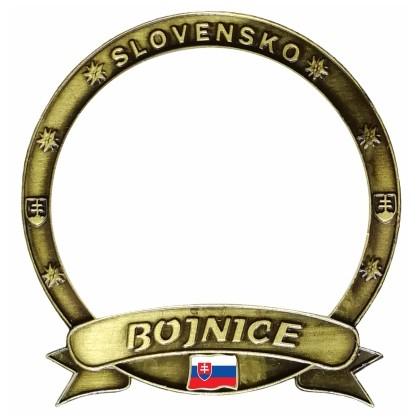 """Magnetka Bojnice """"Vlastný dizajn"""" Dekokov"""