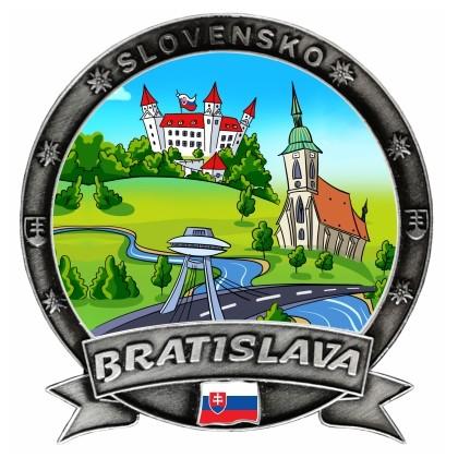 Magnetka Bratislava 10 Dekokov