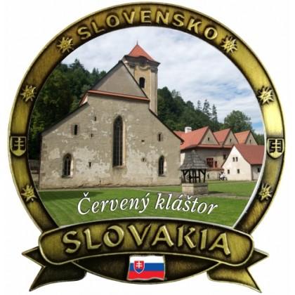 Magnetka Slovakia 10 Červený Kláštor Dekokov