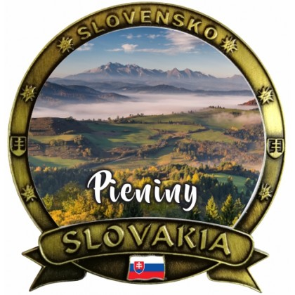 Magnetka Slovakia 09 Pieniny Dekokov