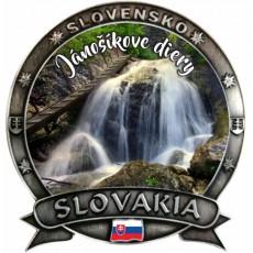 Magnetka Slovakia 06 Jánošíkove diery Dekokov